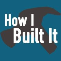 How I Built It podcast art