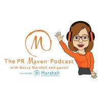 The PR Maven podcast art