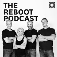 Reboot podcast art